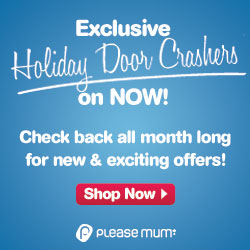 Holiday Door Crashers at pleasemum.com!