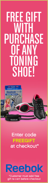 Reebok - Free Resistance Kit with Toning Purchase