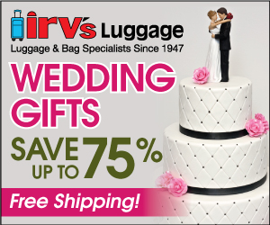 Shop Our Gift Center for WEDDING GIFTS- On-going Offer-Save up to 70%!