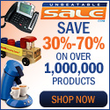 Save up to 70% on over 1,000,000 Products