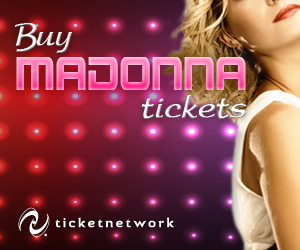 Buy Madonna Tickets