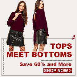 Tops Meet Bottoms ,Save 60% And More