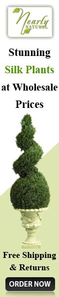 Nearlynatural 120x600 silk plants