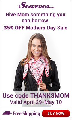 Shop for Amazing Mother's Day Gifts at Scarves.com