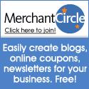 Merchant Circle 125x125 - Create blogs, coupons
