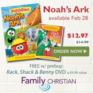 VeggieTales Noah's Ark DVD NEW
