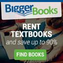 Rent Textbooks at BiggerBooks.com
