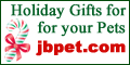 Great Gifts for your pets at JB Pets!