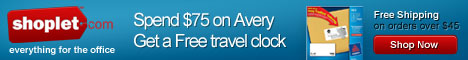 Spend $75 on Avery Product and Get a Free Travel C