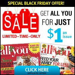 All You Magazine Black Friday Sale