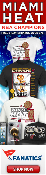 Shop for 2013 Miami Heat Champs gear at Fanatics!