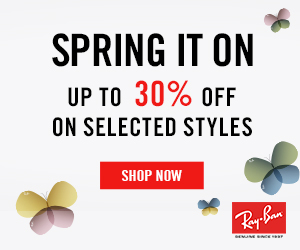 Up to 30% Off Selected Sunglass Styles at Ray-Ban.com