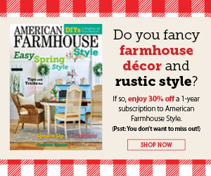 Buy 1-Year Digital Subscription to American Farmhouse Style for only $10.49