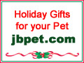 Holiday Gift Banners for pets from JB Pet