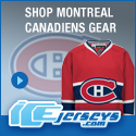 Get Your Official Montreal Canadiens Gear at IceJerseys.com! SAVE $10 off all purchases over $100 with Coupon Code 10OFF100