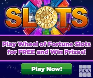 Play Wheel of Fortune Slots Free and Win Prizes