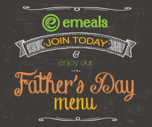 Father's Day Menu Free for New eMeals Subscribers