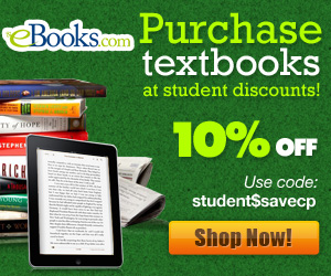 Student Discount 10% Off Promotion 300x250