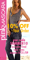 10% OFF Fashion Designer Apparel at PinkMascara