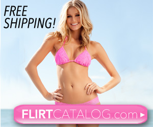 Flirt Catalog Free Shipping over $75 300x250