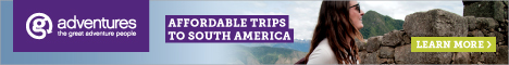 Affordable trips to South America