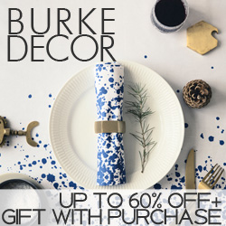 Black Friday 60% off at Burkedecor.com