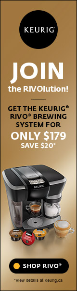 JOIN THE RIVOlution! Get the Keurig Rivo brewing system for only $179 save $20.