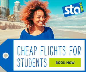 Feature 13: STA Travel Cheap Student Flights