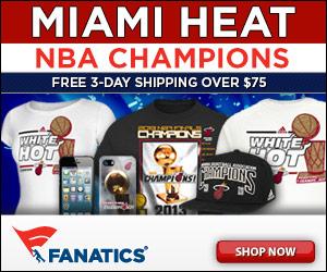 Shop for 2013 Miami Heat Champs gear at Fanatics!