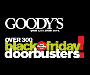 deals on Goody's Black Friday Sale: Extra 50% Off Sitewide