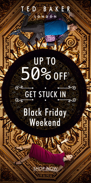 Black Friday Weekend up to 50% off