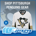 Get Your Official Pittsburgh Penguins Gear at IceJerseys.com! SAVE $10 off all purchases over $100 with Coupon Code 10OFF100