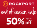 Save up to 50% OFF during the End of Season Sale at Rockport.ca!