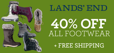 Lands' End Footwear Sale