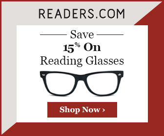 Save 15% on Reading Glasses at Readers.com