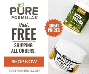PureFormulas Pure Healthy Goodness, Highest-Grade Natural Supplements! Fast, Free Shipping!