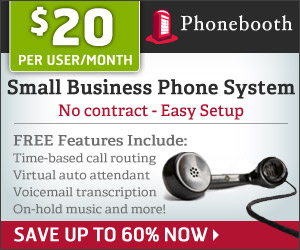 Small business phone system for only $20 per user