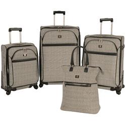 Anne Klein Calgary 4 Piece Spinner Luggage Set Now