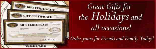 Chicago Steak Company Gift Certificates are perfect gifts for any occasion