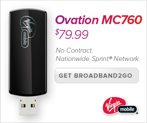 3G Internet at home or on the go.  Broadband2Go