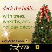 order christmas trees wreaths holiday decor