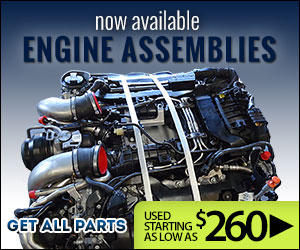 Used Engine Assemblies Now Available at Get All Parts