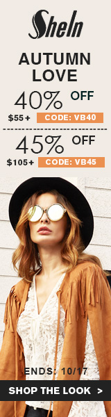 Enjoy 45% off orders $105+ with Coupon Code VB45 at us.SheIn.com! Ends 10/17 (US Only)