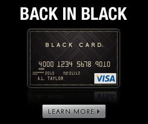 The Visa Black Card