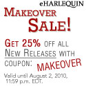July 26- Aug 2 ONLY: Makeover Sale - save 25%