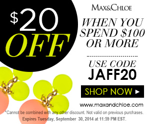 Max&Chloe Thanksgiving Sale