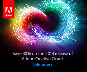 Creative Cloud. Save 40% on the 2014 release of Adobe Creative Cloud.