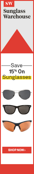Save 15% On All Sunglasses!
