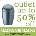 Up to 50% off at StacksandStacks.com