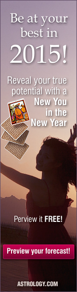 Free Sample New You in the New Year Reading from Astrology.com